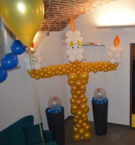 sculture di palloncini giganti torino