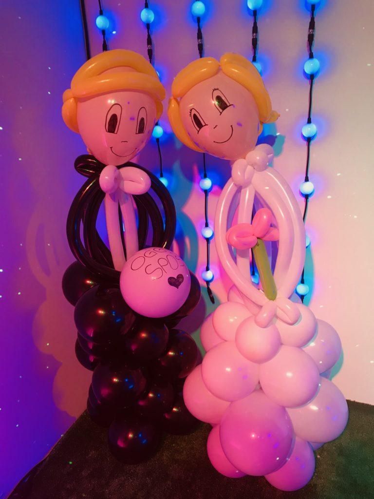 palloncini sposi