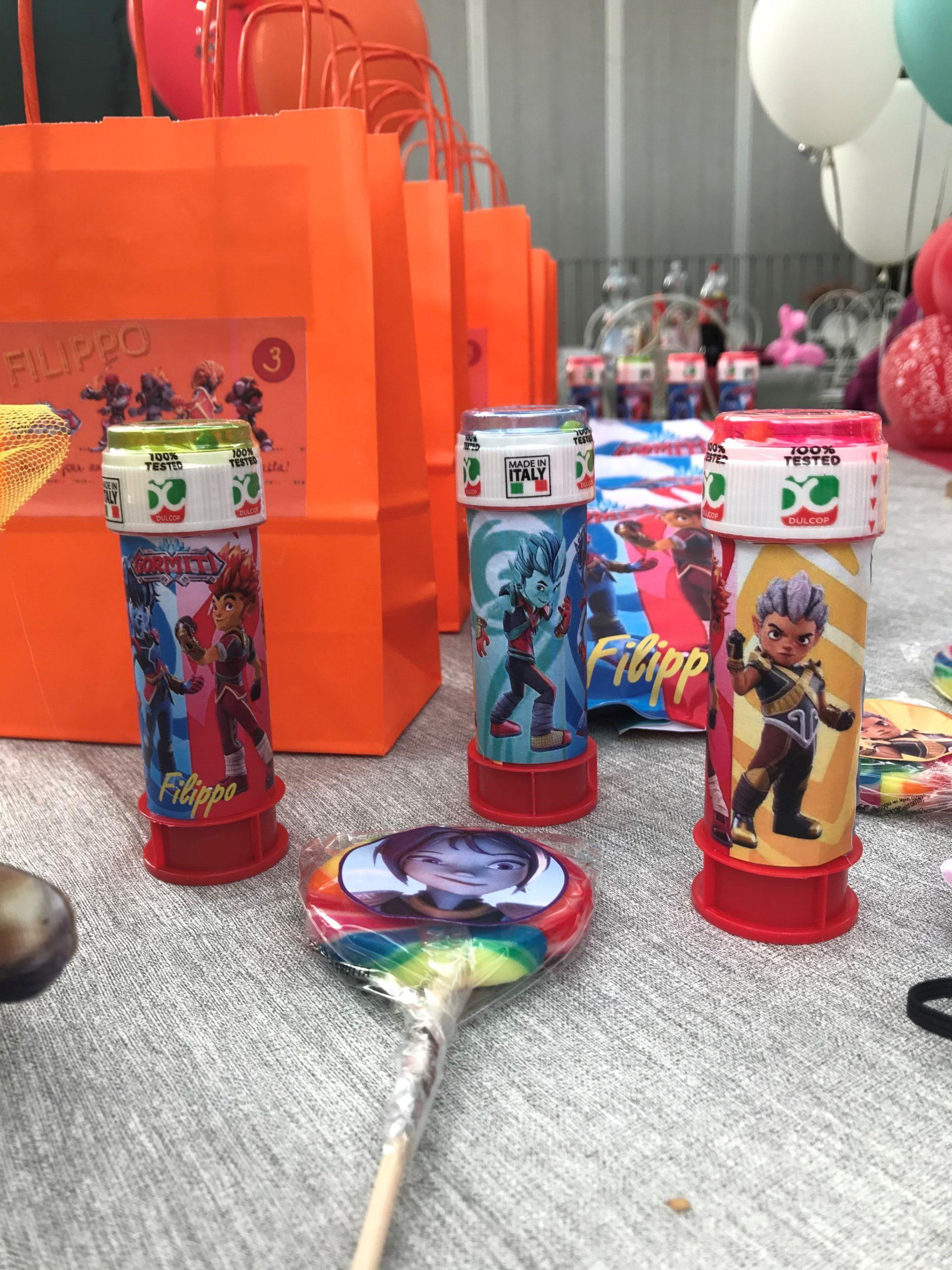 party kit personalizzati per bambini