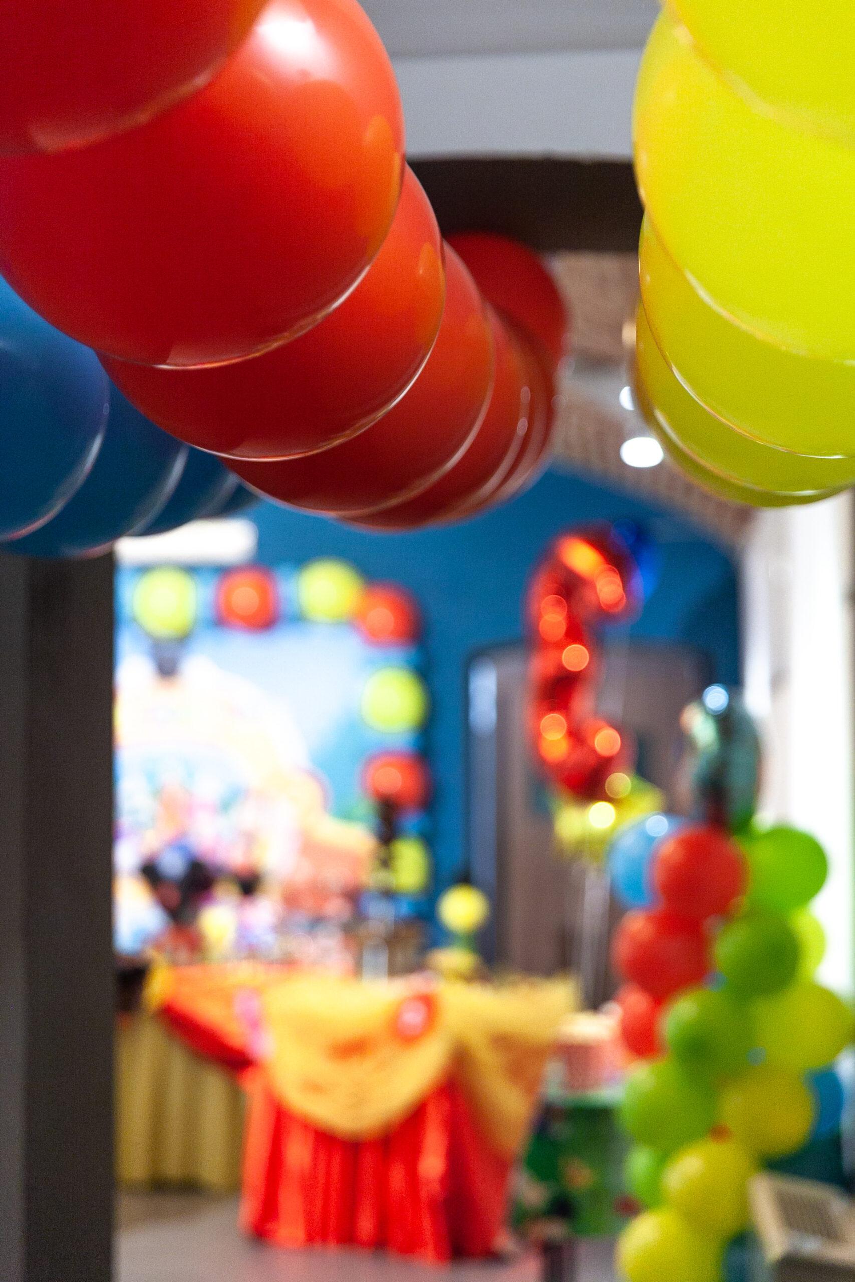 negozio di palloncini a torino