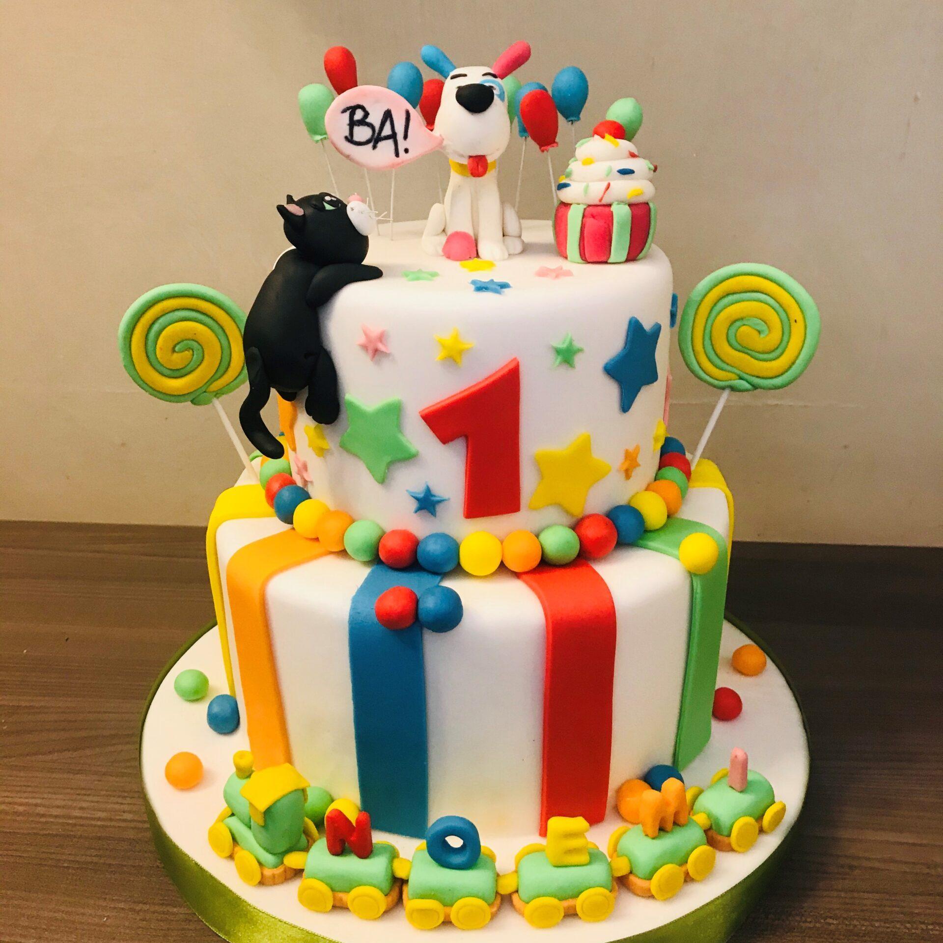 torta colorata bambini